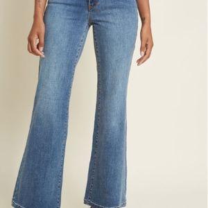 334c1c1f38f Modcloth Creative Companion Wide-Leg Jeans